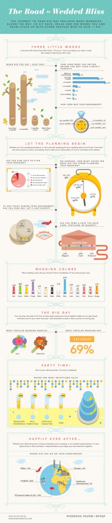 Wedding Bliss Infographic