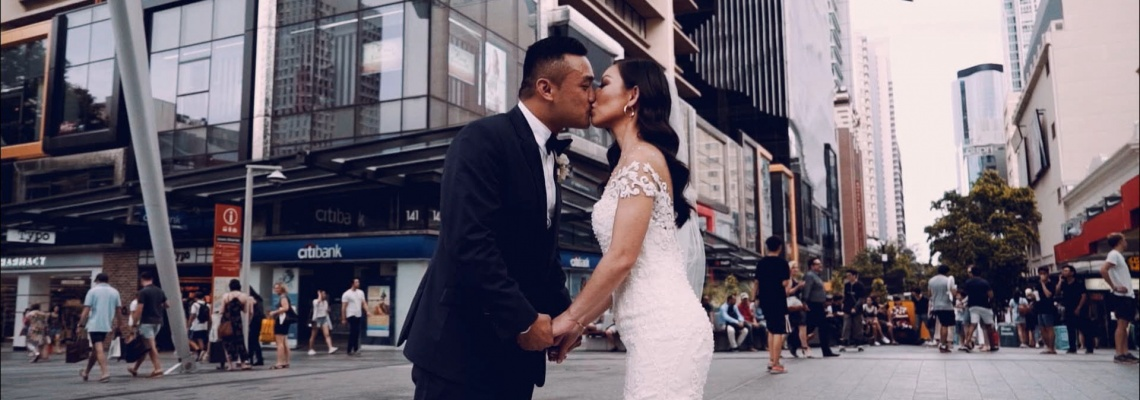 wedding videographer brisbane